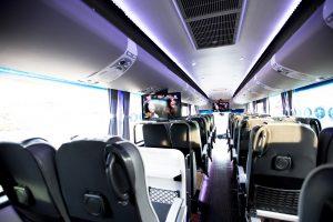 ภายในรถบัส เช่ารถบัส รถบัสเช่า เช่ารถทัวร์ รถรับส่งพนักงาน